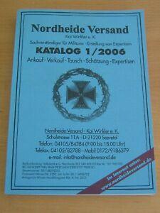 Nordheide Versand Kai Winkler Militaria,Orden , Katalog 1/2006