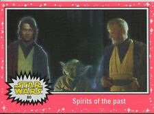 Star Wars JTTFA Neon Parallel Base Card #80 Spirits of the past