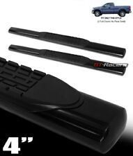 "FOR 2004-2008 F150 REGULAR CAB 4"" OVAL HD BLK SIDE STEP NERF BARS RUNNING BOARDS"