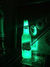 Rolling Rock Beer 12 oz Bottle Light LED Pub Bar Pool Man Cave Neon Sign