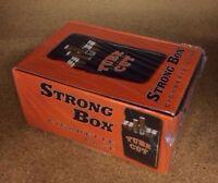 12 Gambler Tube Cut Strong Box Plastic Cigarette Storage Cases King Size