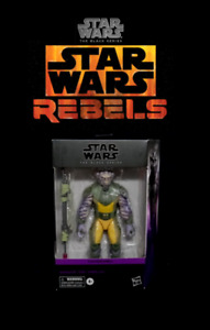 "Star Wars The Black Series Deluxe: ZEB ORRELIOS 6"" Rebels Animated Action Figure"