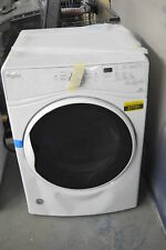 """Whirlpool Wed85Hefw 27"""" White Front-Load Electric Dryer Nob #37731 Cln"""