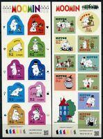 Japan 2015 Moomin Trickfilme Zeichtentrickfiguren Comics 7222-7241 KLB MNH