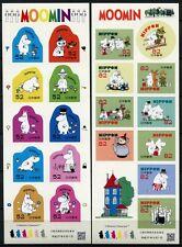 Japan 2015 Moomin Trickfilme Zeichtentrickfiguren Comics Kleinbogen 7222-41 MNH