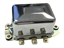 NEW SET! 12V Voltage Regulator w/ Chrome Cover Harley 1965-78 Sportster Shovel