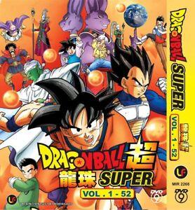 Dragon Ball Super Vol. 1- 52 Anime DVD Box + Free Animate