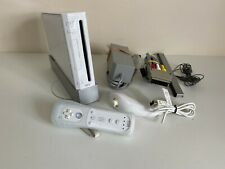 Nintendo Wii Console - White - Full Working Order - TESTED - VGC