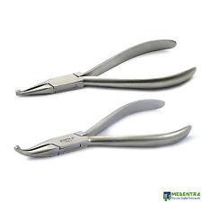 Come Pinze Ortodontiche Dentali Set Di 2 e il Posizionamento Di Archwires Rimozione Lab Piers