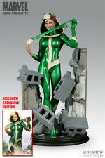 Sideshow Collectibles Rogue Comiquette Exclusive statue with print