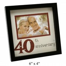 NEW VIEW 40TH WEDDING ANNIVERSARY PHOTO FRAME