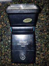 VIVITAR zoom thyristor 3500 dedicated TTL FLASH