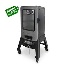 2-Series Digital Electric Vertical Smoker With Rack Outdoor Cooking BBQ Griller