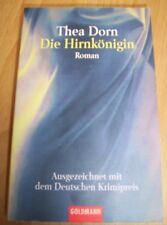 Thea Dorn - Die Hirnkönigin Roman Taschenbuch Krimi Goldmann