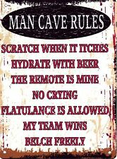 Unbranded Man Cave Decorative Wall Plaques