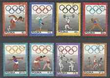 Timbres Sports JO Pologne 1758/65 o lot 24307