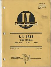 J I Case 500 600 900B Farm Tractor I&T Shop Service Manual