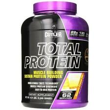 CUTLER NUTRITION TOTAL PROTEIN*CHOCOLATE BROWNIE*62 SERVE*4.55 LBS*22g PROTEIN