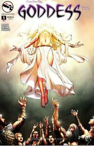 Grimm Fairy Tales presents Goddess Inc. #5C FN; Zenescope   save on shipping - d