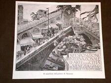 Esposizione di Venezia Manifesto di A. Sezanne