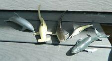 Monterey Bay Aquarium Shark Collection And Bottlenose Dolphins Sea Life Replica