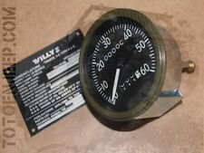 compteur late miles de 06/1943 to end eclairage fluo  jeep willys mb us ww2
