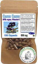 100 Kapseln 600 mg Camu Camu. 50 % organ. Vitamin C SUPERFOOD ORAC OPC POTENTIAL