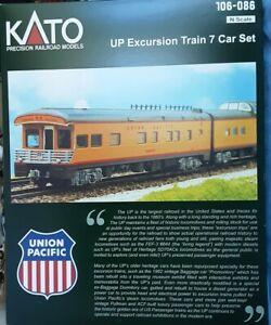 Kato Union Pacific 7-Car Excursion Set #106-086 BOX ONLY!