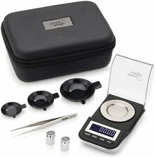 Smart Weigh Premium High Precision Digital Milligram Scale with Case Tweezers