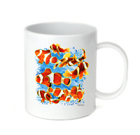 Coffee Cup Mug Travel 11 15 Oz Fish Tropical Clown Fish nature