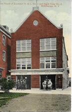 Fire House Excelsior H & L No 1 Eagle Hose 2 Middleton NY postally used in 1919?