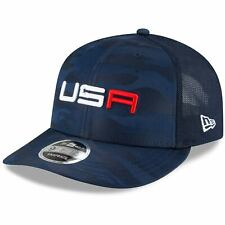 2020 Ryder Cup New Era USA Saturday 9FIFTY Snapback Hat - Blue/Camo