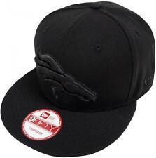 New era NFL Denver Broncos Black on Black SnapBack cap 9 fifty Limited Edition