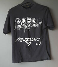 Maroon 5 Laval Concert T-Shirt Medium Black Band Tee Cotton Blend