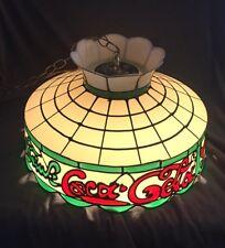 Vintage Tiffany Style Drink Coca Cola Pendant Lamp Swag Light Shade