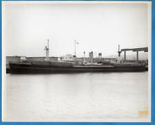 1940-50s Freighter SS Canopus 8x10 Original Photo