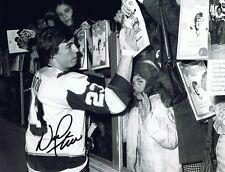 Nick Fotiu Autographed/Signed 8x10 Photo - W/COA -  Hartford Whalers/NY Rangers