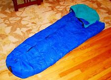 Sleeping Bag Mummy Blue Teal Slumberjack
