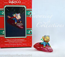 Enesco Mice Have a Cool Christmas Brother Ornament Mouse on Popsicle Treasury of