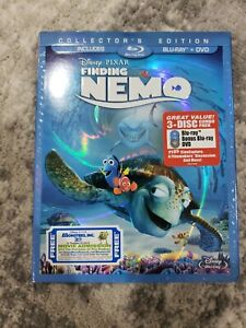 Finding Nemo (Blu-ray) (3-Disc Set) w/slipcover MINT!!