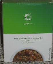 ❤️ MEDIFAST OPTAVIA HEARTY RED BEAN & VEGETABLE CHILI  ~ FREE SHIP ~ 7 MEALS