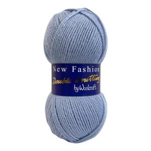 Woolcraft New Fashion DK Wool / Yarn 100g Knitting & Crochet BUY 10+ SAVE 5%