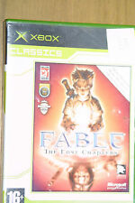 Xbox game Fable The Lost Chapters (no instructions)