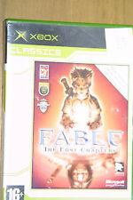 Fábula de los capítulos de Lost Xbox Juego (sin instrucciones)