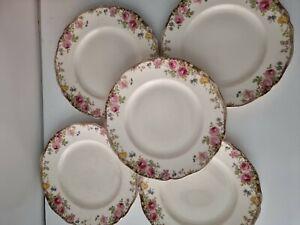 Royal Doulton English  Rose Dinner Plates