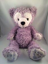 "Disney World Pre-Duffy Hidden Mickey 17"" Lavender Purple Bear Plush"