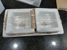 Set of 3 Go Golden Avon Nesting Appetizer Bowls, Orig Pkg, Never Used, Xmas