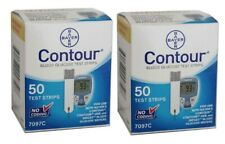 100 Contour Test Strips 2 Boxes of 50 ct Exp 12/2021-Freaky Fast Shipping!