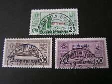 "*ERITREA, SCOTT # 144-146(3), 1931 ITALIAN STAMPS OVPT ""ERITREA""  ISSUE USED"