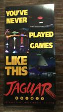 BROCHURE Multi Fold Atari Jaguar NEW Original!